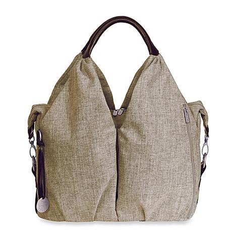 lassig green label neckline diaper bag choco melange. Black Bedroom Furniture Sets. Home Design Ideas