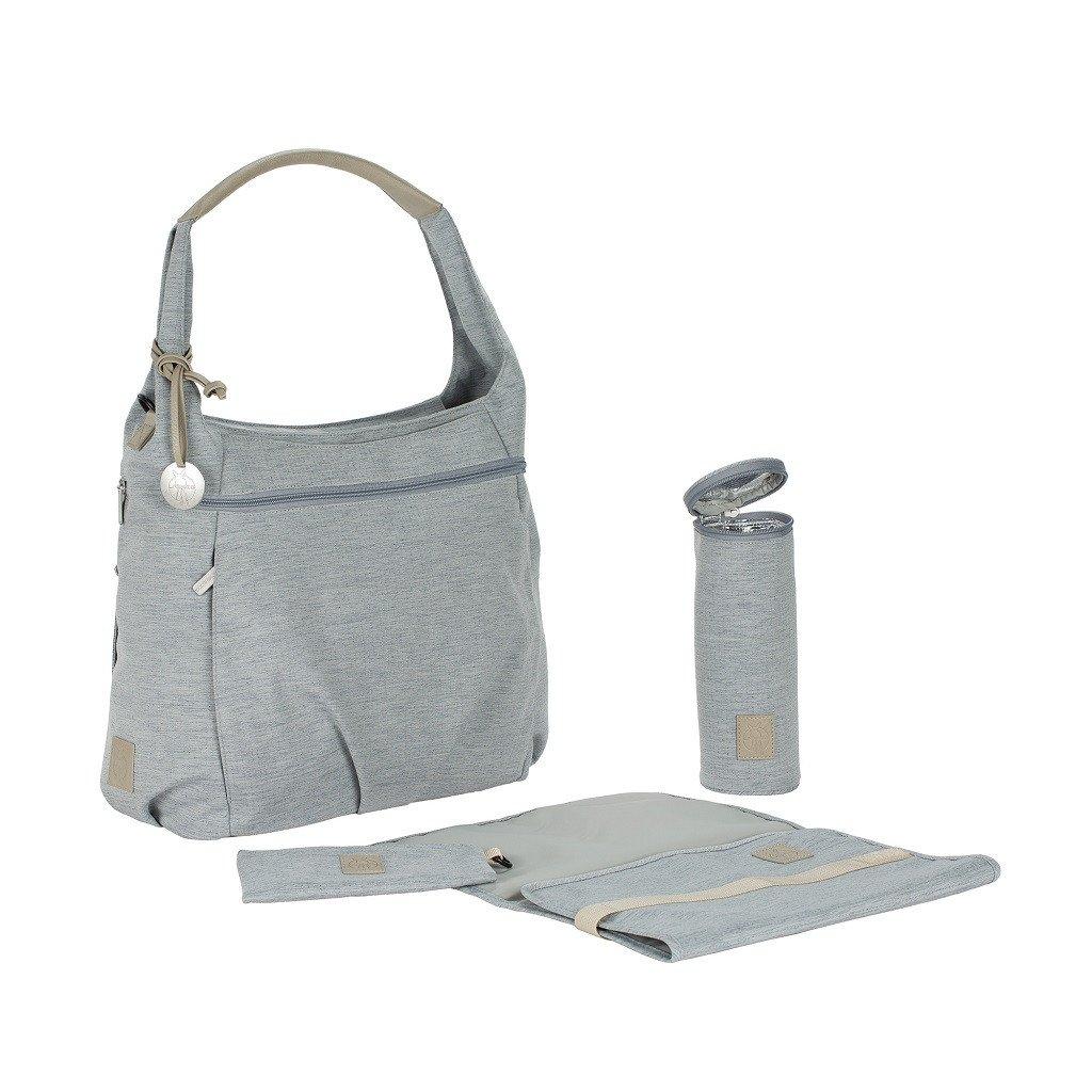 lassig green label hobo diaper bag grey. Black Bedroom Furniture Sets. Home Design Ideas