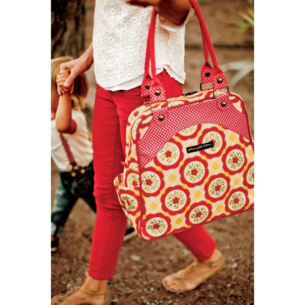 cute designer diaper bags g6v1  Petunia Pickle Bottom Sashay Satchel