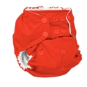 rumparooz cloth diaper - crimson