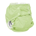 rumparooz cloth diaper - lazy lime