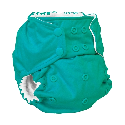 rumparooz cloth diaper - peacock