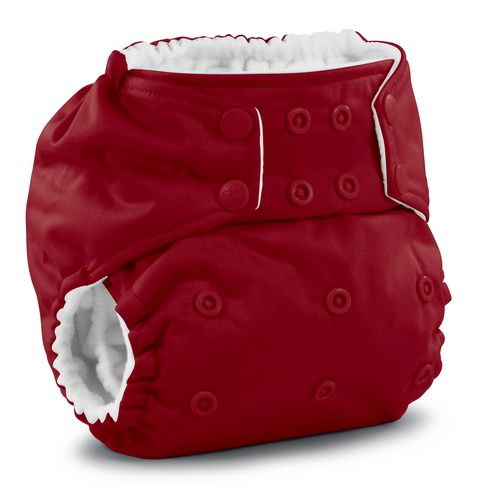 rumparooz cloth diaper - scarlet