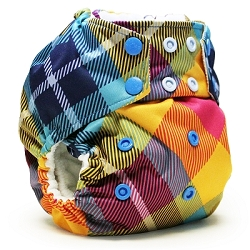 rumparooz cloth diaper - Preppy Plaid