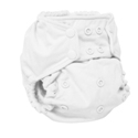 rumparooz cloth diaper - white