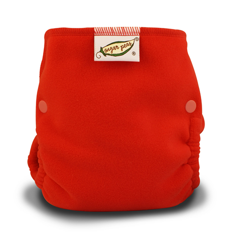 Sugar Peas Windpro Fleece Covers/Sugar Peas Windpro Fleece Cover - Coral