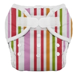 Thirsties Duo Cloth Diapers - warm stripe