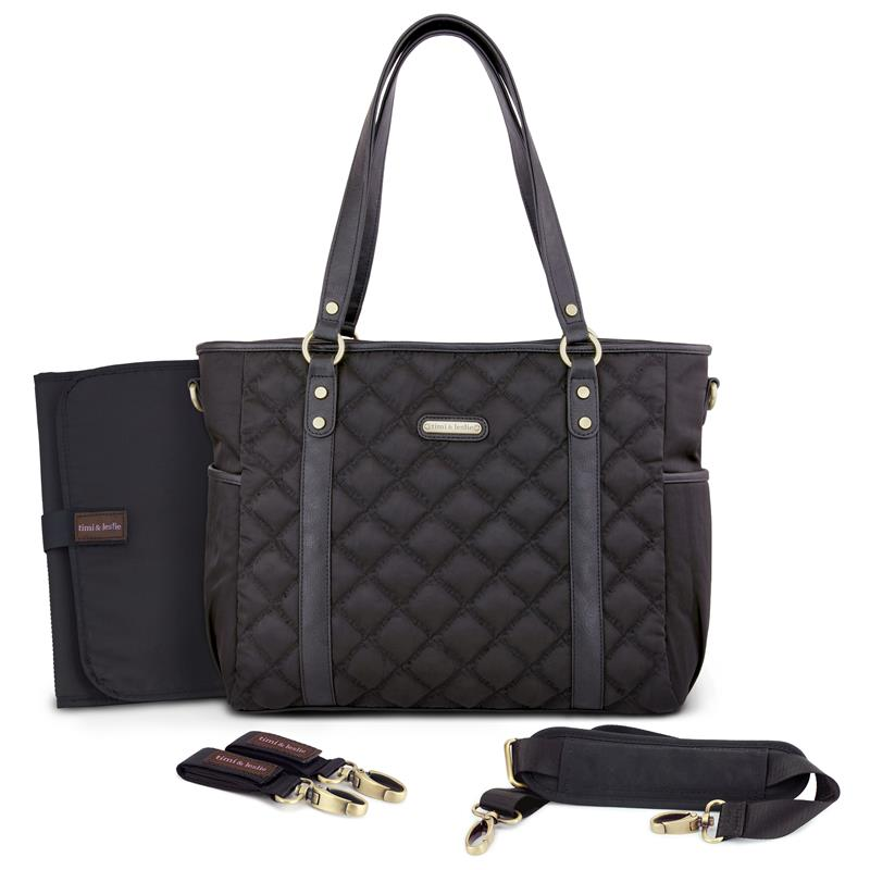 timi leslie quilted tote soho diaper bags canada. Black Bedroom Furniture Sets. Home Design Ideas