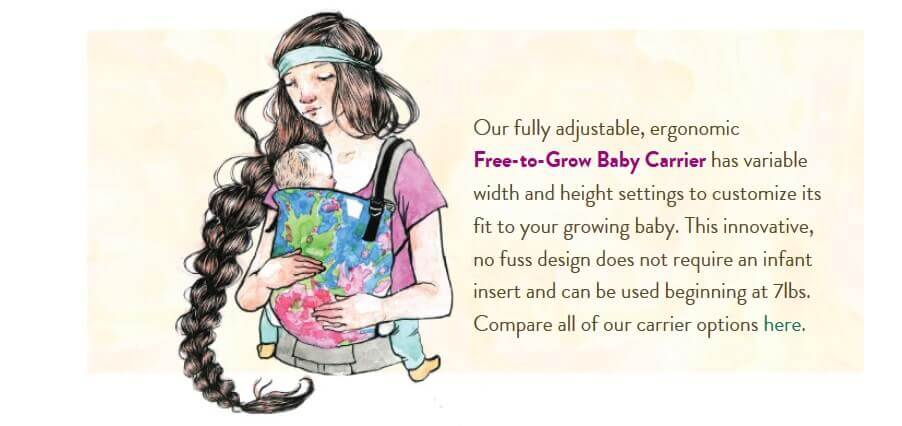 tula baby free to grow carriers Canada