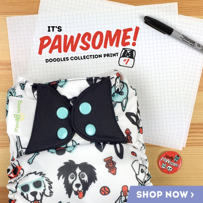 bumgenius doodles collection #1- pawsome