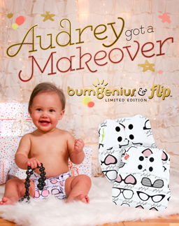 bumgenius 5.0 cloth diaper - audrey