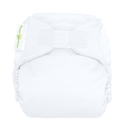 bumGenius 4.0 one size cloth diapers with hooks - white