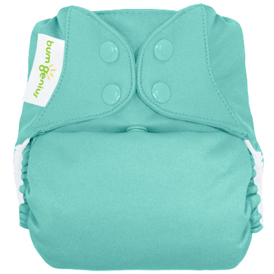 bumGenius 4.0 one size cloth diapers with snaps - mirror