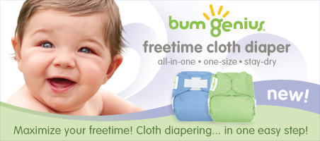 bumgenius free time all in one one size cloth diapers
