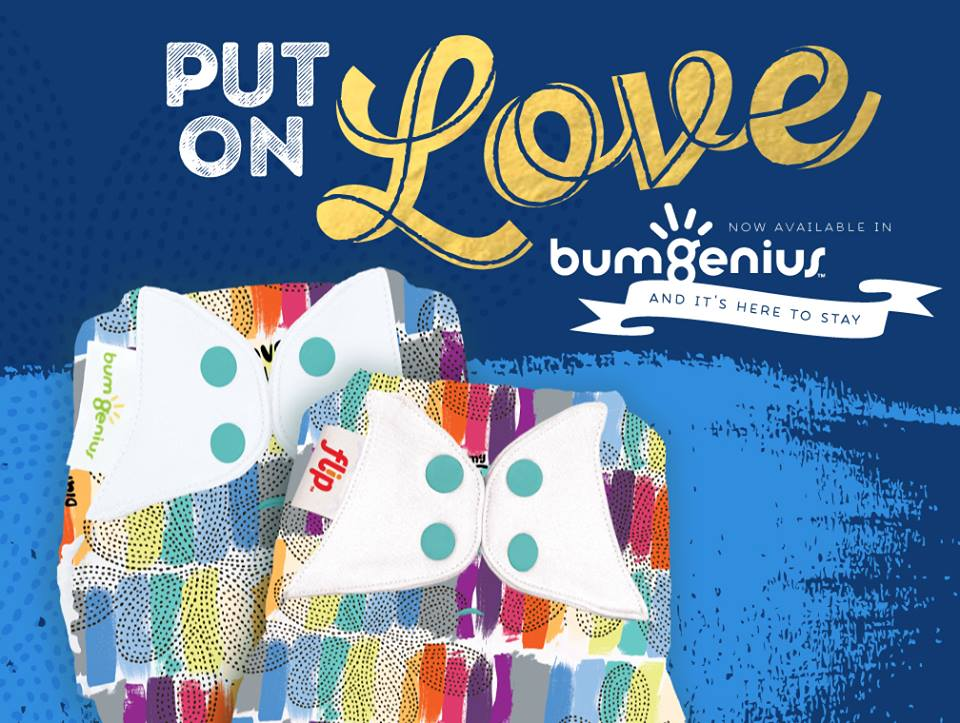 bumgenius cloth diaper - love