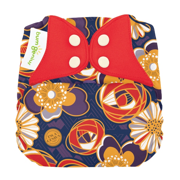 bumgenius elemental cloth diaper - maggie