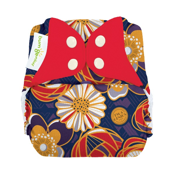 bumgenius freetime cloth diaper - maggie