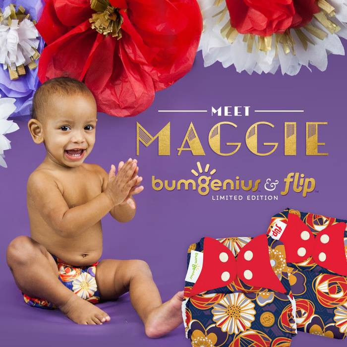 bumgenius cloth diapers - maggie
