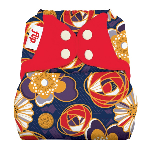 flip cloth diaper cover - maggie