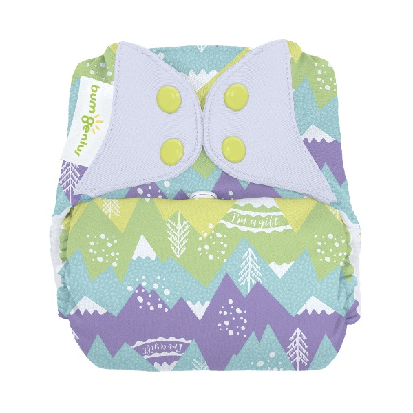 bumGenius freetime cloth diapers with snaps - Strong