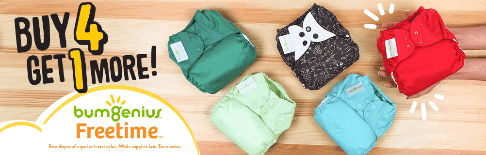 bumgenius freetime cloth diapers sale