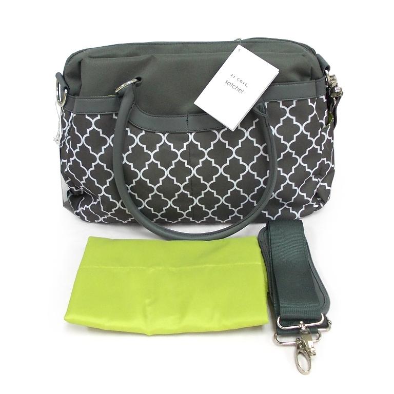 jj cole satchel diaper bag canada canvas stone arbor. Black Bedroom Furniture Sets. Home Design Ideas