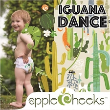 AppleCheeks LIMITED Edition - Iguana Dance