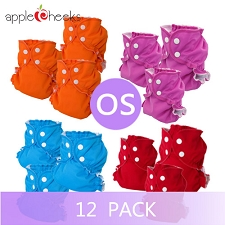 AppleCheeks One Size Cloth Diaper Kit - 12 Pack
