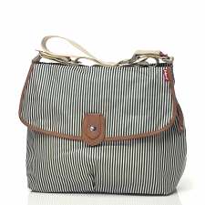Babymel Satchel Diaper Bag - Stripe Navy