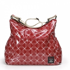 Babymel Big Slouchy Diaper Bag - Twisted Red
