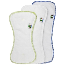 Best Bottom Diaper Insert - Stay Dry, Hemp/Organic Cotton, Overnights