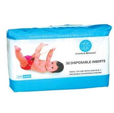 Charlie Banana Diaper Disposable Inserts