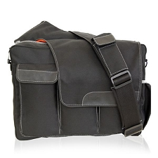Diaper Dude Messenger II - Black