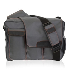 Diaper Dude Messenger II - Grey