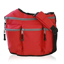 Diaper Dude Original Diaper Bag - Red