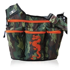 Diaper Dude Original Diaper Bag - Camo Dragon