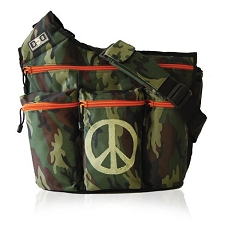 Diaper Dude Original Diaper Bag - Camo Peace