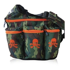 Diaper Dude Original Diaper Bag - Camo Skull