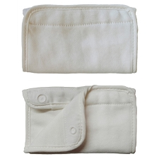 ERGObaby Teething Pad Pair - Natural