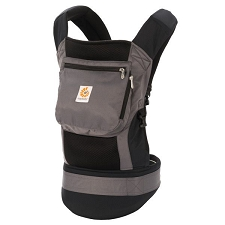 ERGObaby Performance Baby Carrier - Charcoal Black