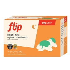 Flip Organic Night Time Insert - 2 Pack