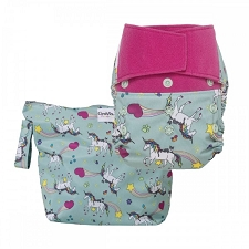 GroVia Purrrrfect Diaper Combo