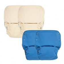 GroVia AIO Cloth Diapers - 4 Pack