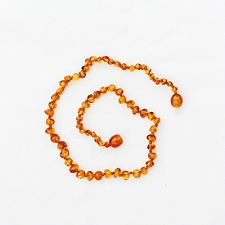 Healing Amber Baby Baltic Amber Teething Necklace - Caramel