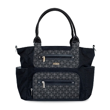 JJ Cole Caprice Diaper Bag - Shadow