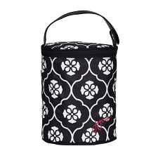 JJ Cole Bottle Cooler - Black Floret