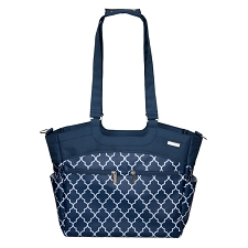 JJ Cole Camber Diaper Bag - Navy Arbor