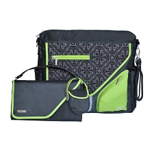 JJ Cole Metra Diaper Bag - Midnight Clover