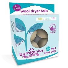 bumGenius Wool Dryer Balls - 4 Pack