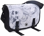 DadGear Messenger Diaper Bag - Argyle Skull